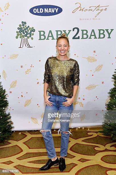 Nicole Richie attends Baby2Baby Holiday Party Presented By Old Navy at Montage Beverly Hills on December 18 2016 in Beverly Hills California