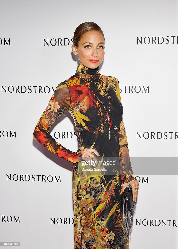 Nicole Richie attends Nordstrom store opening gala at The Americana at Brand on September 17, 2013 in Glendale, California.