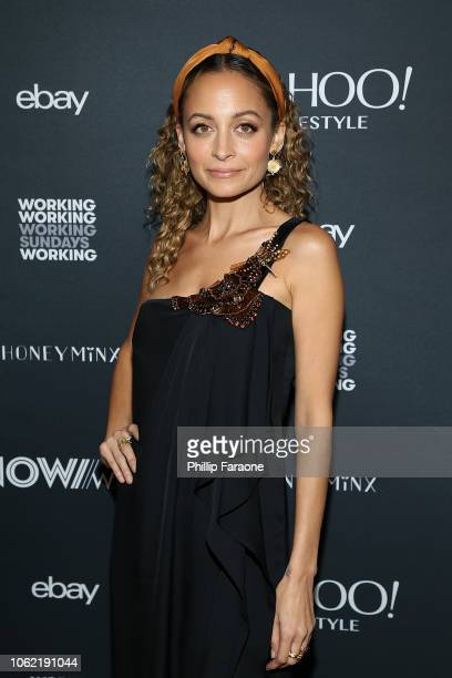 Nicole Richie attends NowWith presented by Yahoo Lifestyle in partnership with Working Sundays Series with Nicole Richie's Honey Minx Collection...