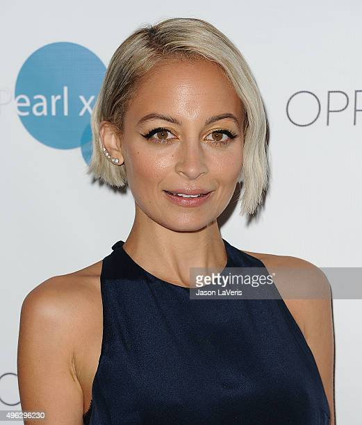 Nicole Richie attends Pearl XChange at Sheraton Hotel on November 8, 2015 in Universal City, California.