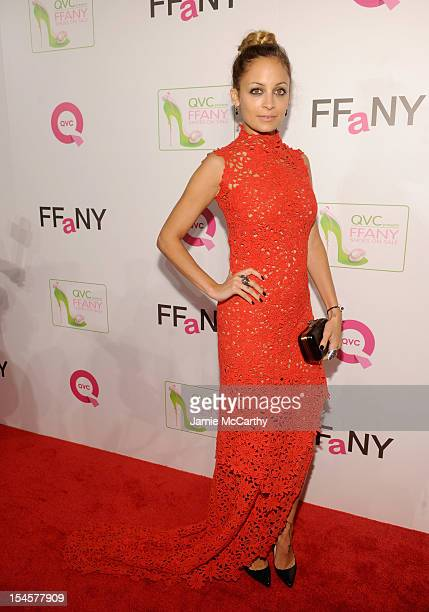 Nicole Richie attends QVC Presents FFANY Shoes on Sale at The Waldorf Astoria Hotel on October 22 2012 in New York City