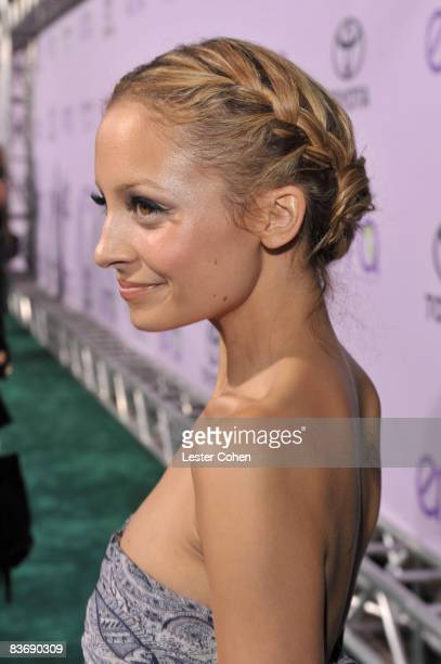 Nicole Richie attends the 18th annual Environmental Media awards at the Ebell Theatre on November 12 2008 in Los Angeles California