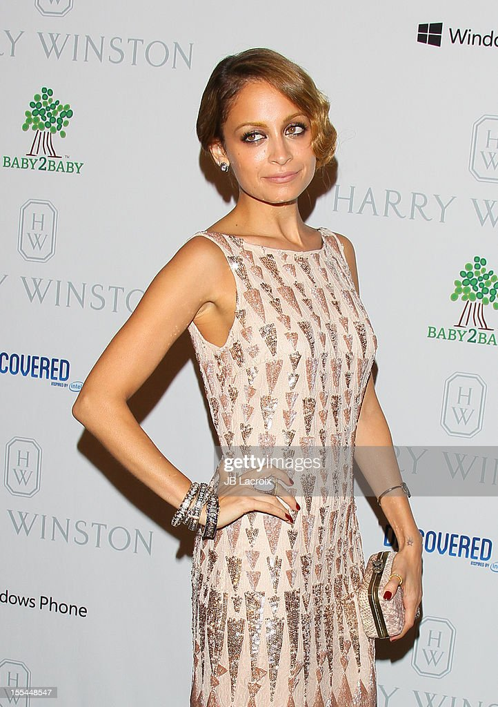 Nicole Richie attends the 1st Annual Baby2Baby Gala Presented By Harry Winston at Book Bindery on November 3, 2012 in Culver City, California.