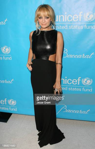Nicole Richie attends the 2011 Unicef Ball at the Beverly Wilshire Four Seasons Hotel on December 8 2011 in Beverly Hills United States