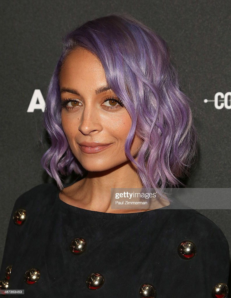 Nicole Richie attends the 2014 AOL NewFront at the Duggal Greenhouse on April 29, 2014 in the Brooklyn borough of New York City.