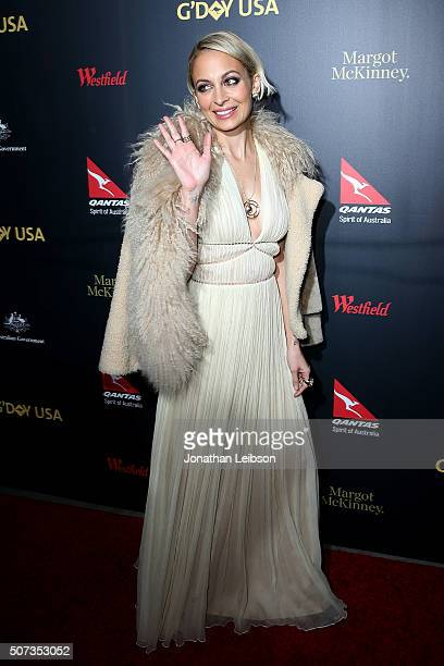 Nicole Richie attends the 2016 G'Day Los Angeles Gala at Vibiana on January 28 2016 in Los Angeles California