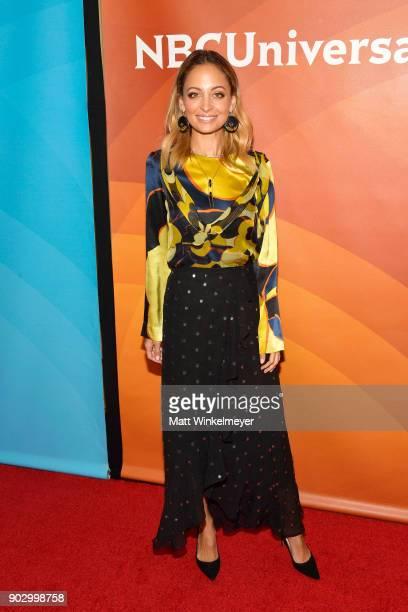 Nicole Richie attends the 2018 NBCUniversal Winter Press Tour at The Langham Huntington, Pasadena on January 9, 2018 in Pasadena, California.