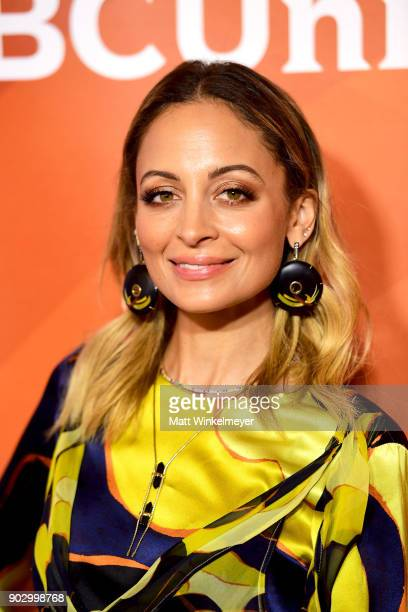 Nicole Richie attends the 2018 NBCUniversal Winter Press Tour at The Langham Huntington Pasadena on January 9 2018 in Pasadena California