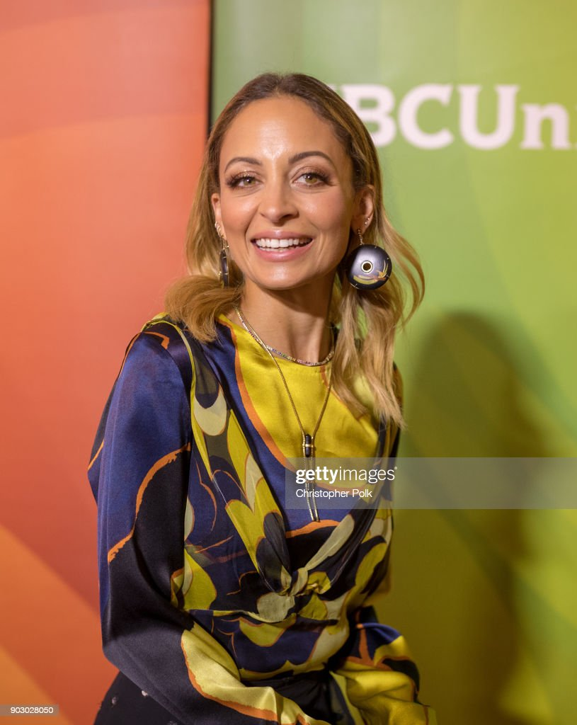 Nicole Richie attends the 2018 NBCUniversal Winter Press Tourat The Langham Huntington, Pasadena on January 9, 2018 in Pasadena, California.
