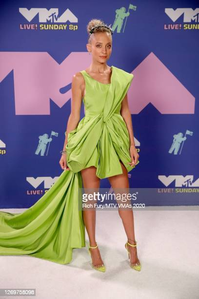 Nicole Richie attends the 2020 MTV Video Music Awards, broadcast on Sunday, August 30th 2020.