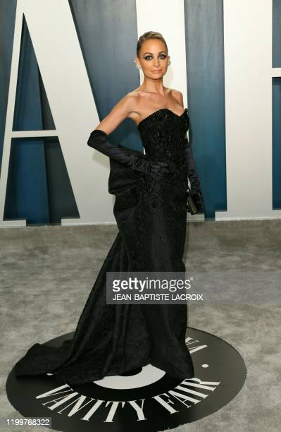 Nicole Richie attends the 2020 Vanity Fair Oscar Party following the 92nd annual Oscars at The Wallis Annenberg Center for the Performing Arts in...