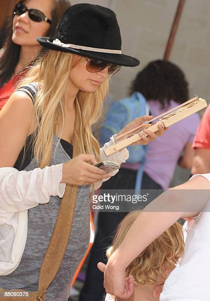 Nicole Richie attends The 3rd Annual Kidstock Music and Arts Festival at Greystone Mansion on May 31 2009 in Beverly Hills California
