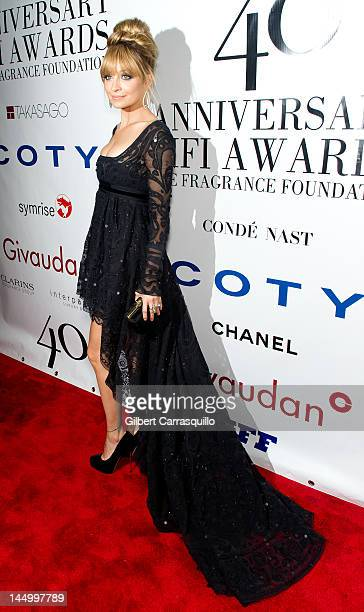 Nicole Richie attends the 40th annual Fifi awards at Alice Tully Hall Lincoln Center on May 21 2012 in New York City