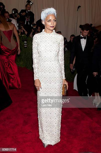 Nicole Richie attends the Costume Institute Gala for the 'PUNK: Chaos to Couture' exhibition at the Metropolitan Museum of Art in New York City. ��...