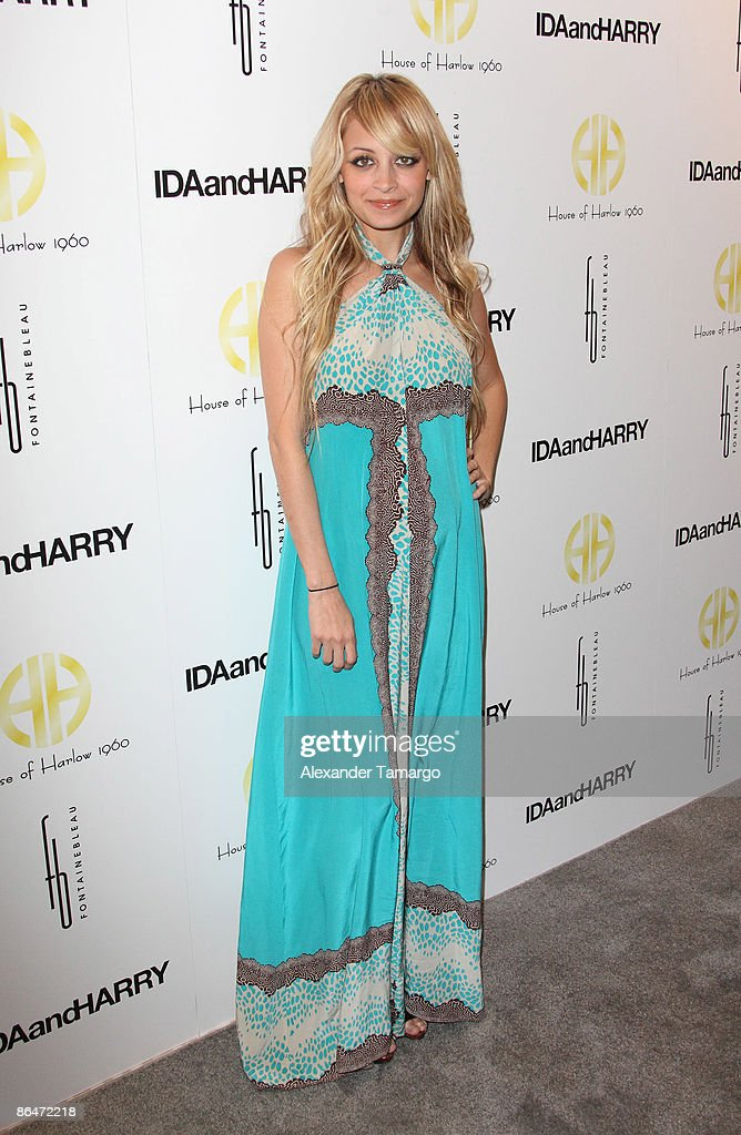 Nicole Richie attends the launch of House of Harlow 1960 Jewelry Collection at Ida and Harry at Fontainebleau Miami Beach on May 6, 2009 in Miami Beach, Florida.