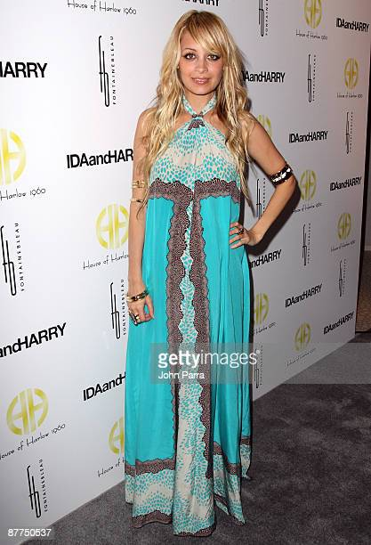Nicole Richie attends the launch of House of Harlow 1960 Jewelry Collection at Fontainebleau Miami Beach on May 6, 2009 in Miami Beach, Florida.