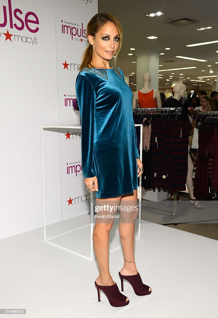 Nicole Richie For Impulse -- Only At Macy's! : News Photo