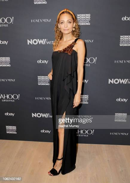 Nicole Richie attends the launch of NowWith, presented by Yahoo Lifestyle and Working Sundays celebrating the series launch of Nicole Richie's Honey...