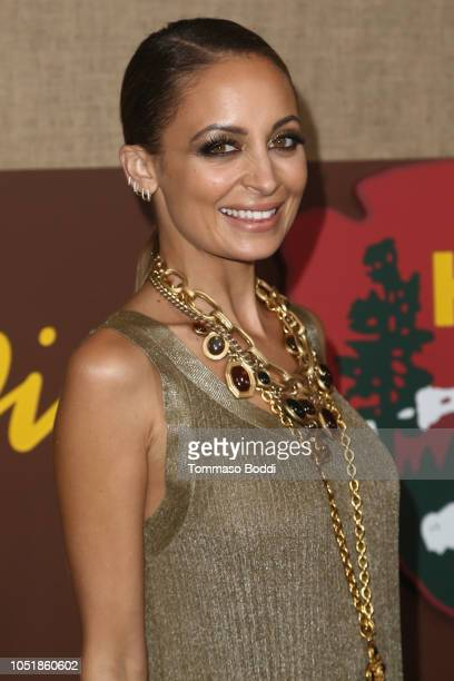 """Nicole Richie attends the Los Angeles Premiere Of HBO Series """"Camping"""" at Paramount Studios on October 10, 2018 in Hollywood, California."""