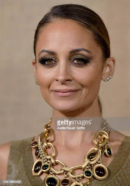 Nicole Richie attends the Los Angeles premiere of HBO series 'Camping' at Paramount Studios on October 10, 2018 in Hollywood, California.