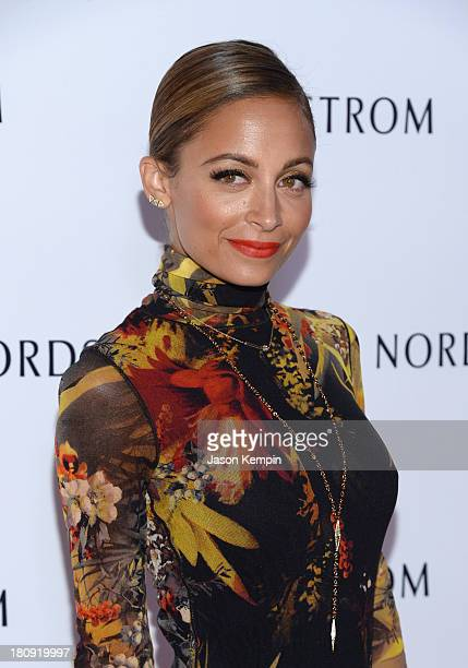 Nicole Richie attends the Nordstrom Gala at The New Nordstrom's At The Americana At Brand at The Americana at Brand on September 17 2013 in Glendale...
