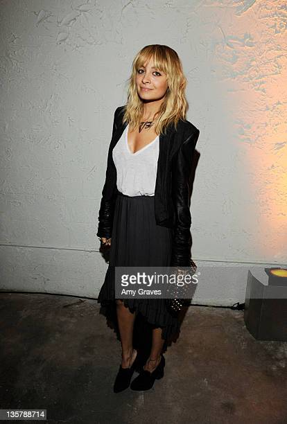 Nicole Richie attends the Pressed Juicery West Hollywood Opening Celebration at The Pressed Juicery on December 13 2011 in Los Angeles California