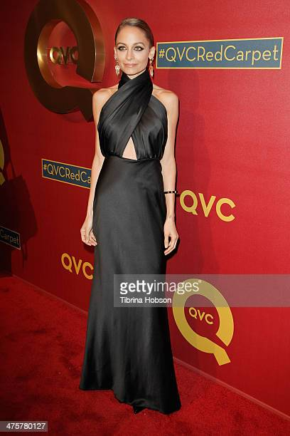 Nicole Richie attends the QVC 5th annual red carpet style event at The Four Seasons Hotel on February 28, 2014 in Beverly Hills, California.