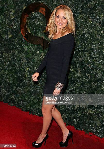 Nicole Richie attends the QVC red carpet style party held at the Four Seasons Hotel Los Angeles on February 25, 2011 in Los Angeles, California.
