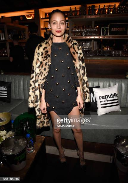 Nicole Richie attends the Republic Records GRAMMY after party at Catch LA on February 12 2017 in West Hollywood California