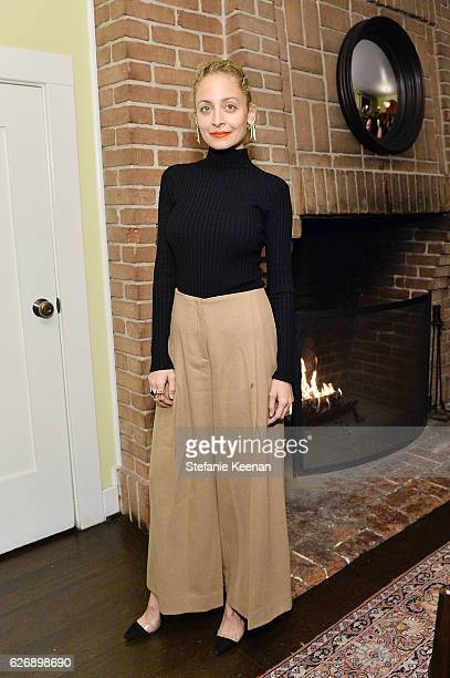 Nicole Richie attends The Zoe Report's Box of Style Winter Edition Dinner at Chateau Marmont on November 30 2016 in Los Angeles California