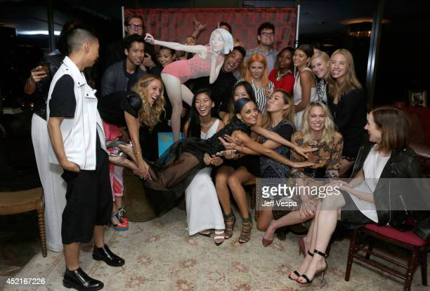 Nicole Richie attends VH1's Candidly Nicole influencer event in Los Angeles on July 14 2014 in West Hollywood California