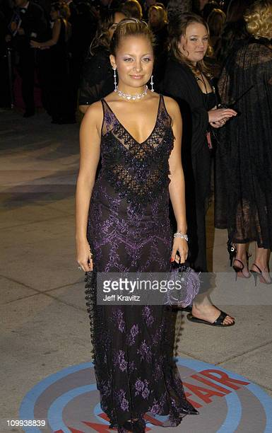 Nicole Richie during 2004 Vanity Fair Oscar Party at Mortons in Beverly Hills California United States