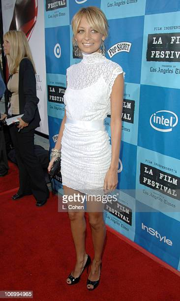 Nicole Richie during 2006 Los Angeles Film Festival Opening Night The Devil Wears Prada Red Carpet at Mann Villiage Theatre in Westwood California...
