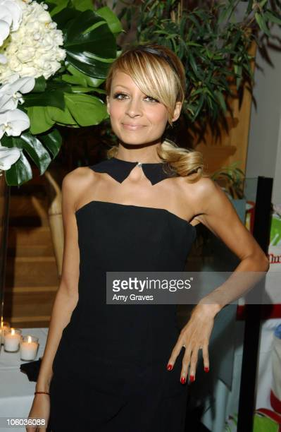 Nicole Richie during Allure and Linda Wells's Summer Cocktail Party at Hamasaku Restaurant in Los Angeles California United States