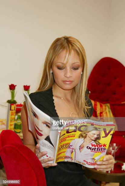 Nicole Richie during Lola Cosmetics and Lucky Magazine Party in Los Angeles California United States