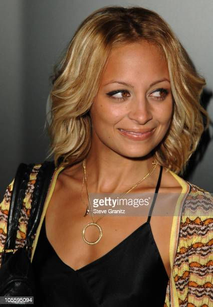 Nicole Richie during Motorola's Seventh Anniversary Party to Benefit Toys for Tots Arrivals at American Legion Hall in Los Angeles California United...