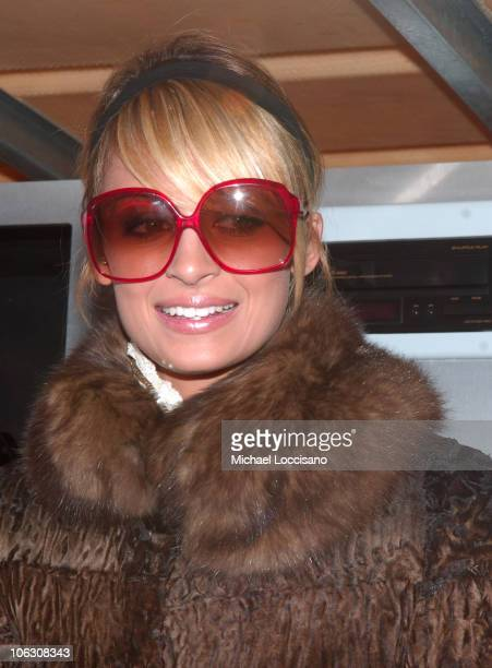 Nicole Richie during Nicole Richie Delivers Diet Dr Pepper to New York City on Valentine's Day at 6th Street and 3rd Avenue in New York City New York...