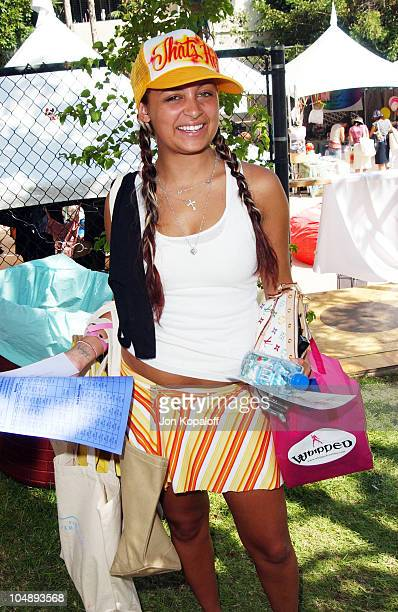 Nicole Richie during The Silver Spoon Beauty Buffet Sponsored By Allure at Private Residence in Hollywood California United States