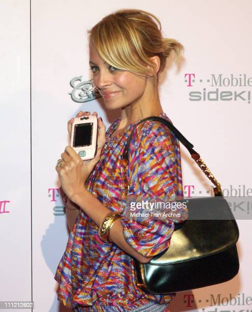 Nicole Richie during T-Mobile Limited Edition Sidekick II Launch - Arrivals at T-Mobile Sidekick II City in Los Angeles, California, United States.