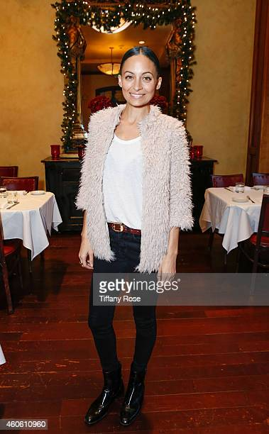 Nicole Richie hosts the Baby2Baby Holiday Event at The Grove on Wednesday December 17 2014 in Los Angeles California