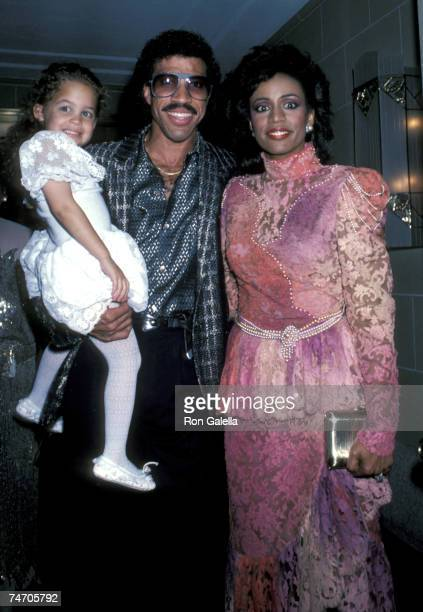 Nicole Richie, Lionel Richie, and Brenda Harvey Richie at the Flushing Meadow in New York City, New York