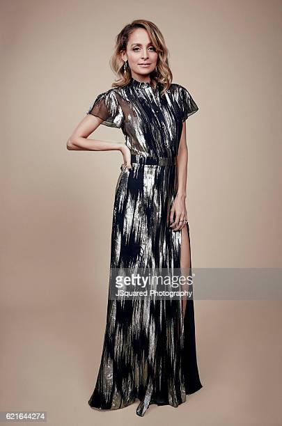 Nicole Richie poses for a portraits at the Environmental Media Association 26th Annual EMA Awards Presented By Toyota Lexus and Calvert Investments...