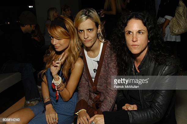 Nicole Richie Samantha Ronson and Amanda Demme attend Charlotte Ronson Spring 2007 Collection Cocktail Party at Hollywood Hills on October 17 2006