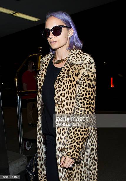 Nicole Richie seen at LAX on May 03 2014 in Los Angeles California