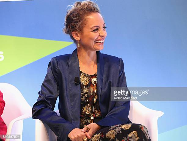 Nicole Richie speaks onstage at Breaking the Mold at Thomson Reuters during 2016 Advertising Week New York on September 26, 2016 in New York City.