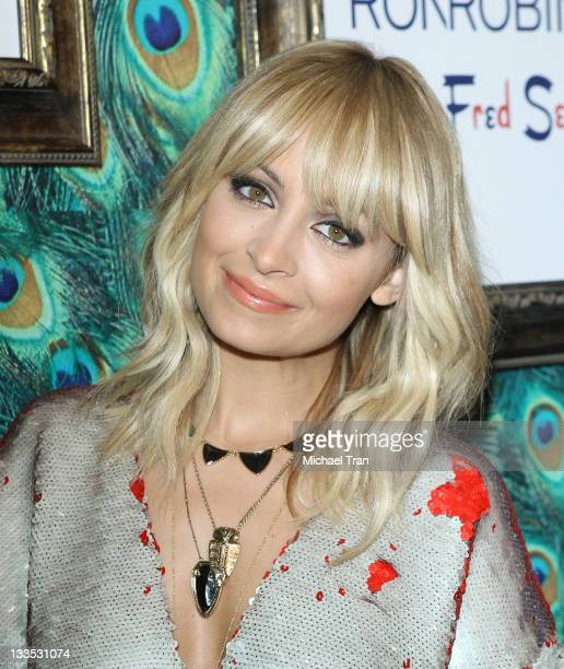 """Nicole Richie unveils her """"House of Harlow 1960"""" holiday pop-up shop held at Fred Segal on November 19, 2011 in West Hollywood, California."""