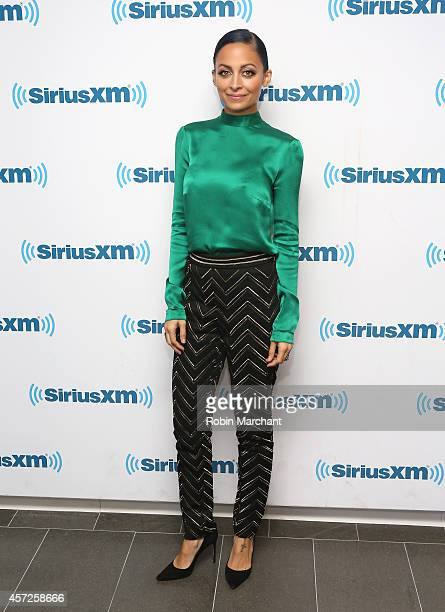 Nicole Richie visits at SiriusXM Studios on October 15, 2014 in New York City.