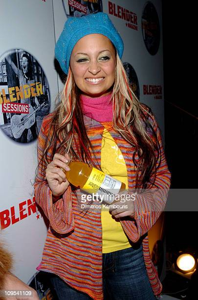 Nicole Richie with Vitamin Water during 2004 Park City Blender Sessions Trampoline Showcase Featuring Pete Yorn and Special Guest Minnie Driver at...