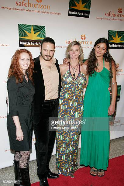 Nicole Rodrigo Nava Cecilia Rodhe and Yelena Noah attend SAFE HORIZON Hosts Their Annual Benefit In Celebration Of The Arts at Pier Sixty at Chelsea...