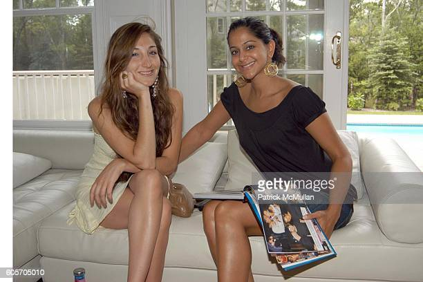 Nicole Romano and Azadeh Jaber attend Beauty Day Hosted By Rosario Dawson at Jaguar Cain Estate on July 9 2006